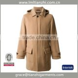 alibaba china oem manufacture Chinese-clothing-manufacturers men cheap high quality men's wool coat
