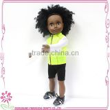 Baseball black doll with wholesale sneakers shoes for dolls