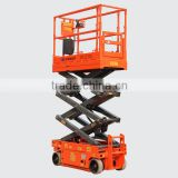 CE Certified battery charger scissor lift, easy operation mobile scissor lift table, 2014 new design automotive scissor lifts