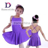 C2123 Popular child camisole leotard With skirt/dance skirts ballet dance skirts/girls ballet dress