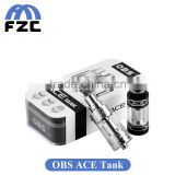 Side filling ICC 0.85ohm, ICC 0.6ohm, RBA OBS ACE Sub Ohm Tank which perfect with Original smok H-PRIV mod 220w TC Mod