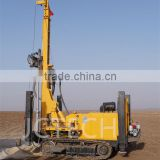 200m hole hydraulic portable shallow well drilling rig