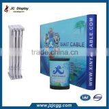 Hot sale Tension fabric display Trade show portable aluminium fabric pop up display stand