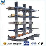single arm cantilever rack for storage long type goods , heavy duty Cantilever racking system CE &ISO certificated