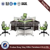2016 new design 3 person office furniture workstation (HX-4PT063)