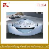 Factory Price Wholesales Decorate with glass Big Size Free Standing Bahtub with Seat Massage Bathroom Bathtub