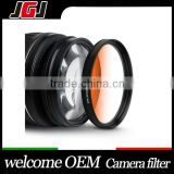 Custom Camera Filter 58mm Orange Graduated Color Lens Filter For Nikon D5300 For Canon 450D 50D For Sony A6000 A600