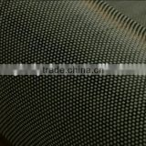 Golden twill hybrid fabric carbon aramid kevlar fabric for decoration