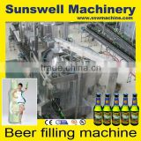 Cans aluminium juice / beverage / beer filling machine