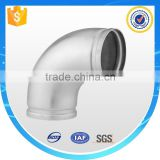 ISO9001 & CE factory, China bend pipe stainless steel 90 degree elbow