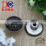 Top Quality Metal Buttons for Blazers for Women and Men's Clothing