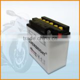 Fast deliver used for starting generator dry charged storage sla pp cover motorcycle battery wholesale