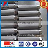 Manfre supply cylinder metallic filter element