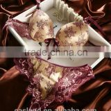 So charming woman underwear sexy bra and panty(FPY301)                                                                         Quality Choice
