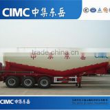 CIMC Direct Factory 60T Cement Bulk Carrier Semi Trailker For Sale