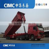 Manual Transmission Type and Diesel Fuel Type mining truck Trailer