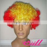 Fashion Male Cosplay Wig Curly Afro Wig Wholesale Factory Price High Quality Accept Sample Order