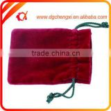 Customized Logo Wholesale colorful Eco-Friendly Velvet pouch / velvet jewelry pouch / velvet bag for Golf tools Gift Jewelry