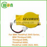 Lithium Manganese Dioxide battery CMOS battery CR2025 for Thinkpad 600 600E 600X RTC