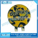Golf Towel Type Hot Sale Halloween Golf Ball Marker Hat Clip Manufacturer& Export
