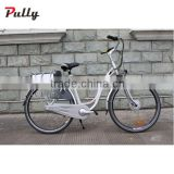 250W Brushless Geared 700C E Bike Electric Bicycle