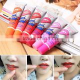 Romantic Bear Wow Lips For Lip Beauty Waterproof Lip Gloss Liquid Matte Liptisck Peel Off Cosmetic Lipstick