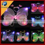 2015 fairy wing / angel wing / butterfly wing set/led light toy