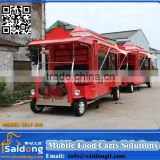 Bubble Tea Kiosk Design For Mobile Street Food Trailer Cart For Sale