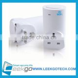 Wireless Switch Outlet with Smart Home Automation Phone App Control universal wall socket usb charger