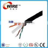 lan cable with rohs fire resistant utp cat6 cable network cable cat6