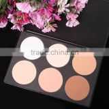 Hot Professional 6 Colors Contour Face Powder Makeup Cosmetic Blush Palette New