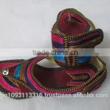 indian women juti/ shoes/mojri