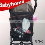 portable baby stroller net bag with best quality