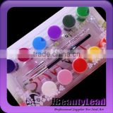Professional OUMAXI 3D Nail Art Acrylic Gel Paint Painting Tube Pigment Set Acrylic paints With 12 Colors