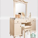 Simple Design White Wood Dressing Table HA-818# Dressing Table Designs For Bedroom