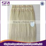 2015 cheap and high quality 100 human hair extensions ,virgin clip in hair extensions free sample