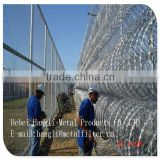 Hangli Used galvanized barbed wire for sale / pvc coated barbed wire price weight per meter for fence
