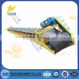 China supplier low cost heavy duty carbon steel motorized sand conveyor for sale