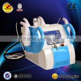 Portable tripolar RF vacuum cavitacion radiofrecuencia facial machine for slim skin care