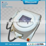 Hottest selling portable alma laser shr fast hair removal machine with CE SFDA certificate