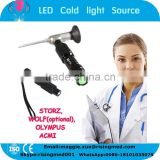 CE mark Portable LED Cold Light Source connector compatible STORZ WOLF OLYMPUS for endoscopy CLS-650A