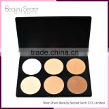 6 colors best face powder brands for dry skin Makeup Cosmetics Concealer Waterproof Concealer Palette