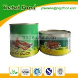 Wholesale Best Canned Food Curry Duck
