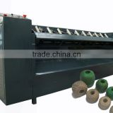 PLC Controled pp jute sisal twine ball forming machine