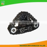 All terrain rubber track chassis for UTV/ATV