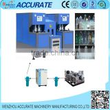 Semi automatic PET bottle blowing molding machine 2 cavities 2500ml