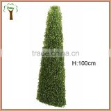 Artificial turritus boxwood topiary