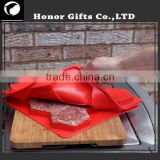 2016 Hot Sale Food Grade Custom Logo Silicone Burger Press Mold