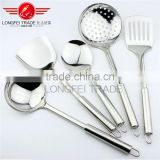 Non-magnet with competitive price stainless steel kitchen utensil / kitchen cooking tool set