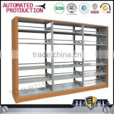 Factory direct sale library furniture book cupboard/ otobi book rack in bangladesh price